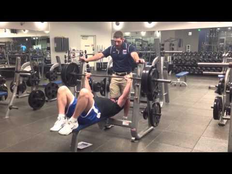 295 x 8 bench press